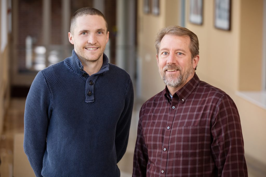 Jacob Allen and Jeffrey Woods, Carle Illinois College of Medicine research, University of Illinois at Urbana-Champaign