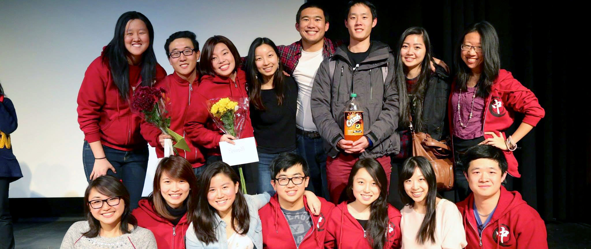 Matt with the Chinese Student Association at their cultural show performance.