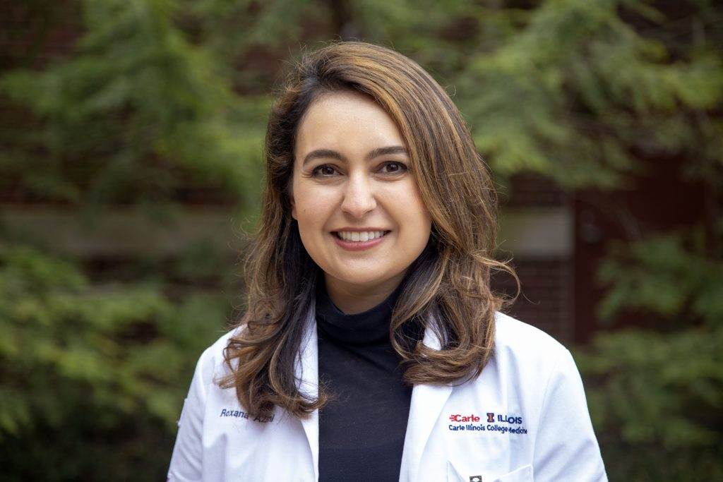 Roxy Azimi, medical student at Carle Illinois College of Medicine