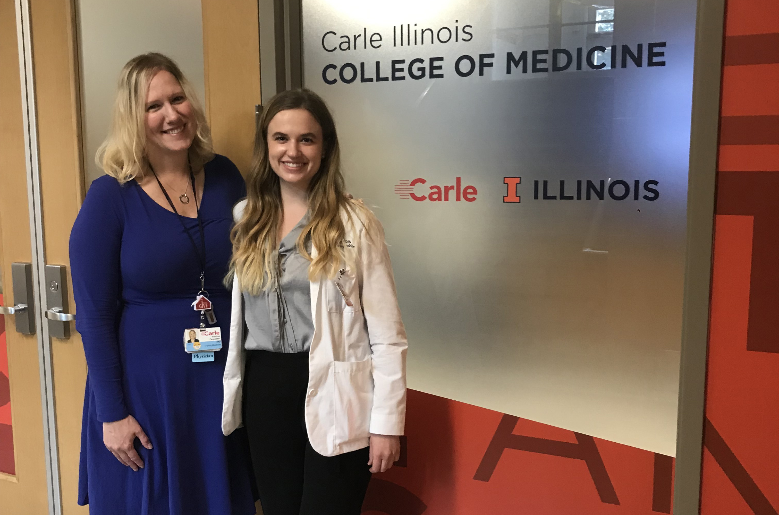 Andrea Hall, Carle Illinois College of Medicine, University of Illinois at Urbana-Champaign