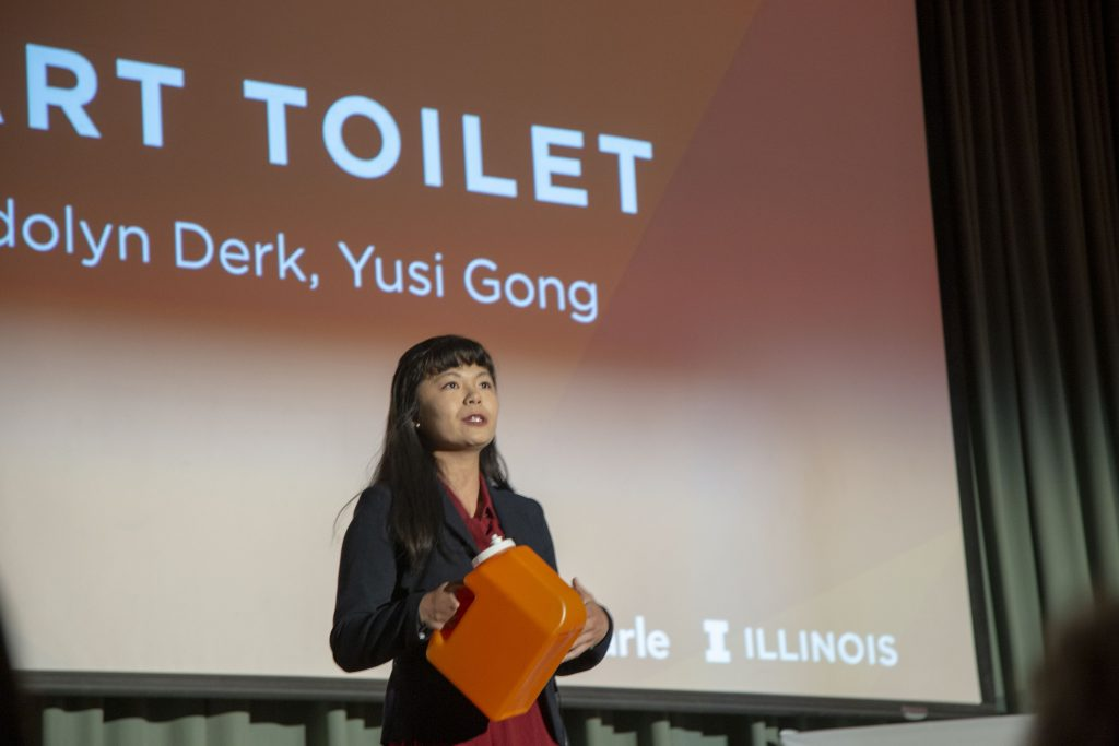 Yusi Gong, Carle Illinois College of Medicine, University of Illinois at Urbana-Champaign